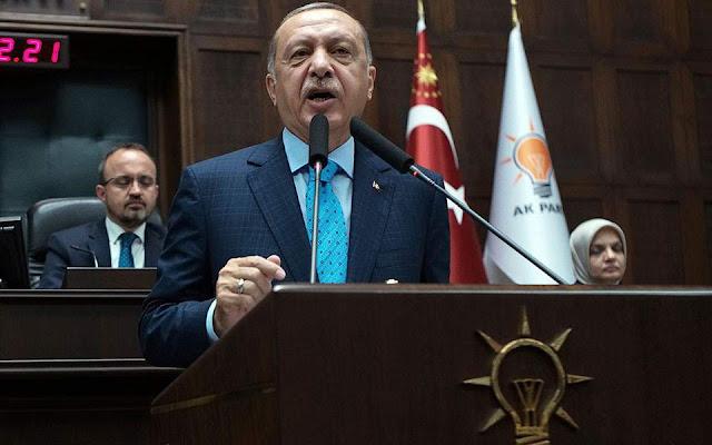 Ερντογάν: Η Τουρκία θα κάνει αυτό που ξέρει στη Μεσόγειο