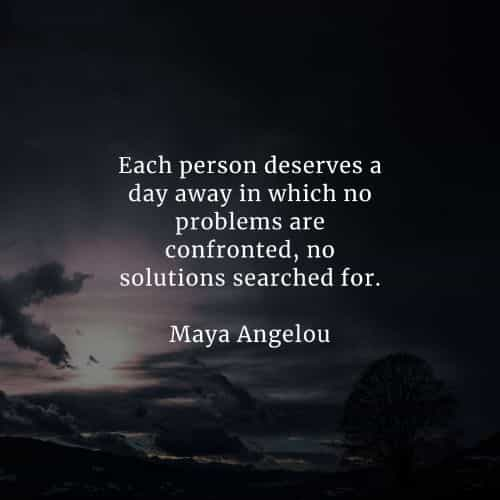 Famous quotes and sayings by Maya Angelou
