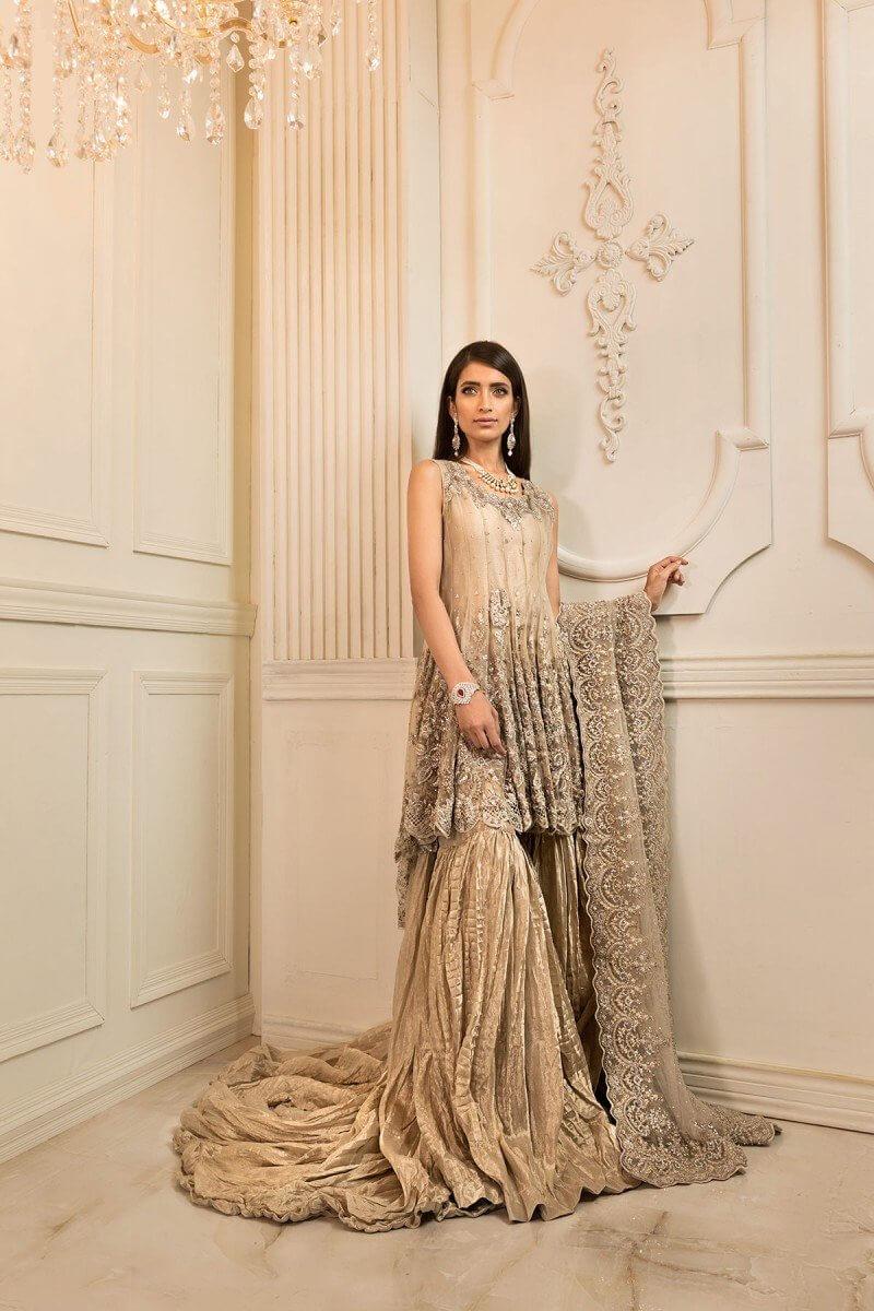 Latest Maria B Walima Bridal Dresses for Pakistani Women