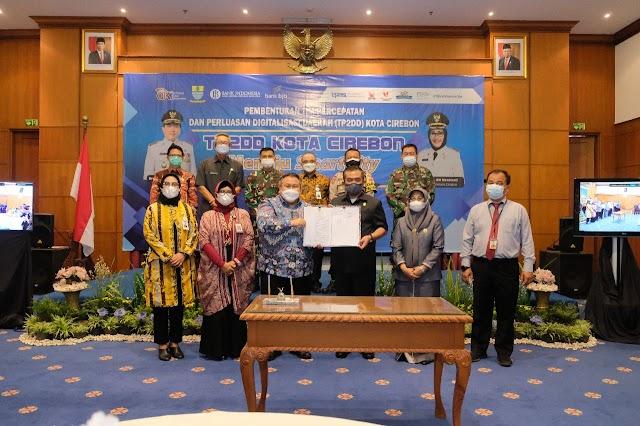 Perluas Transaksi Digital, bank bjb Dukung Kota Cirebon Menuju Smart City