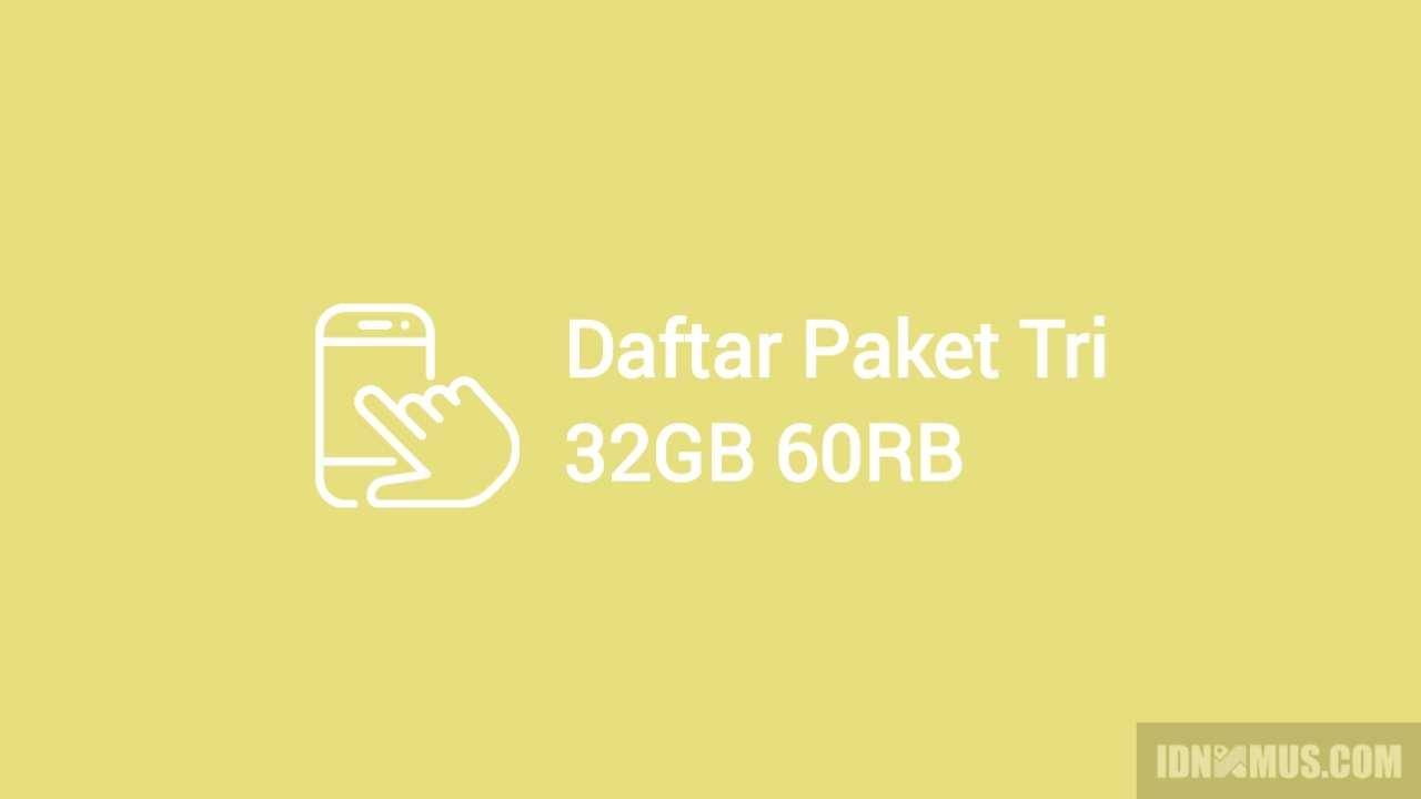 Paket tri 32gb 60rb