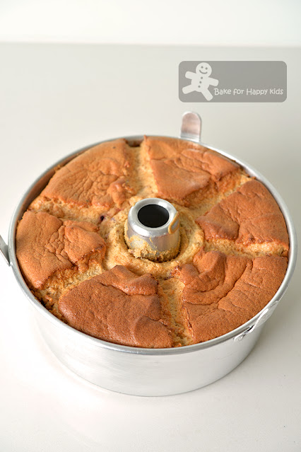 cottony soft honey fruit tea chiffon cake