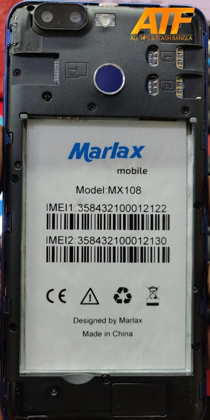 MARLAX MX108 FLASH FILE FIRMWARE STOCK ROM