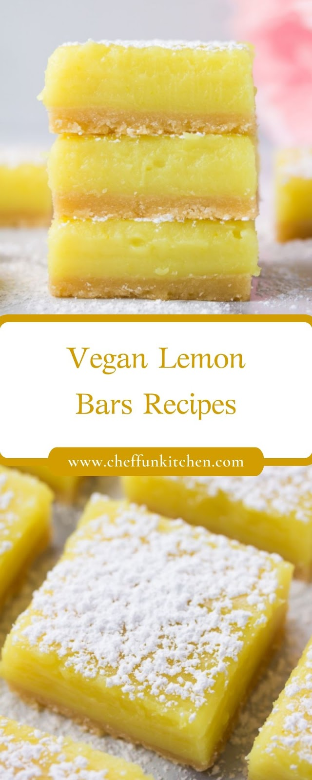 Vegan Lemon Bars Recipes