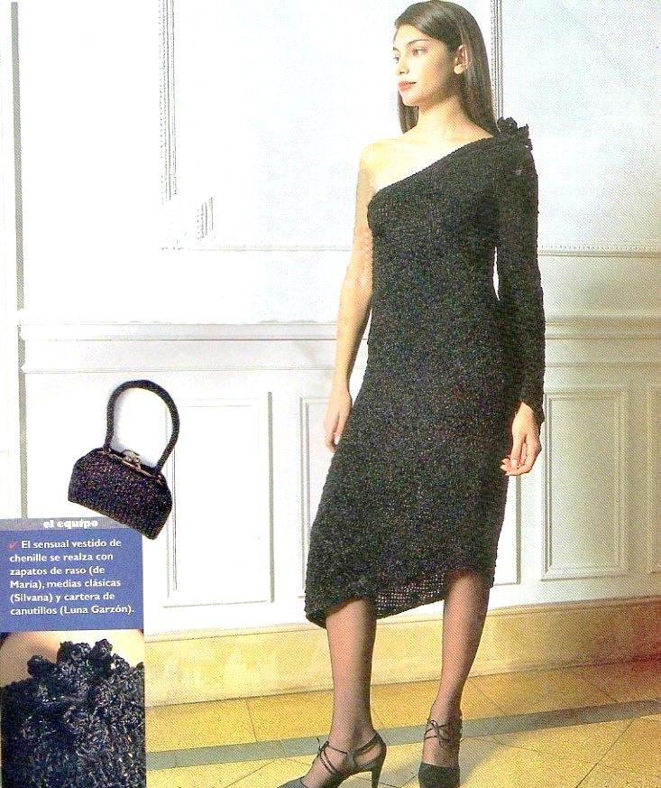 Vestido seduccion asimetrica