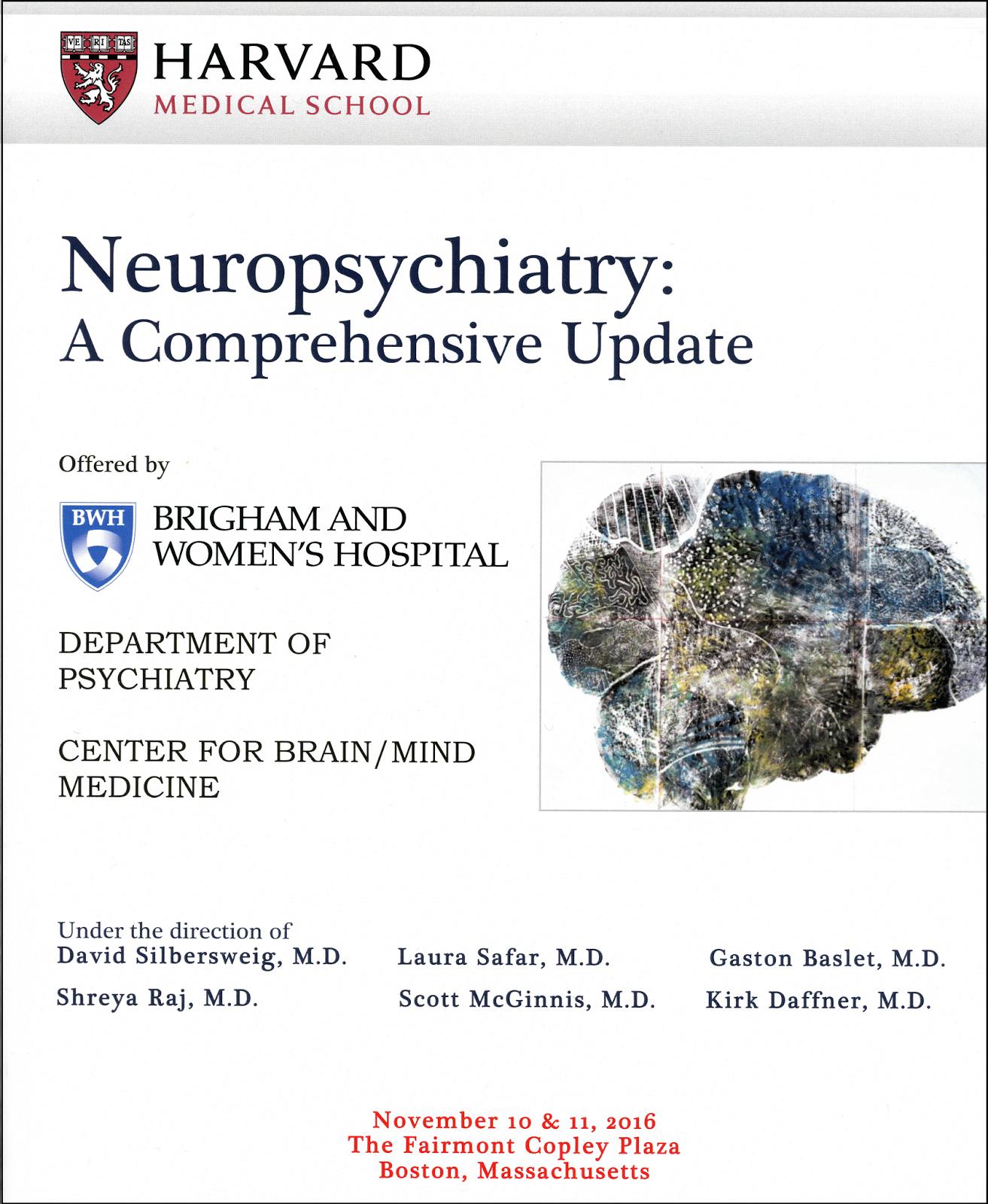Real Psychiatry: The Harvard Neuropsychiatry Course