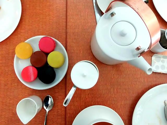 xavier brignon macarons, salon de thé besançon