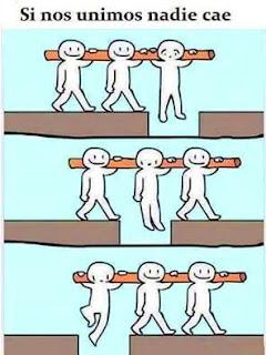 imagen Si nos unimos nadie cae