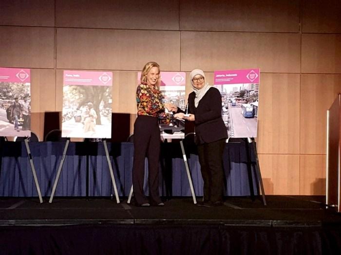 Jakarta Raih Penghargaan Transportasi Perkotaan Tingkat Dunia Di Washington DC