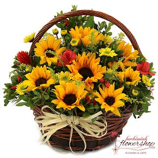Send sunflowers to HCMC
