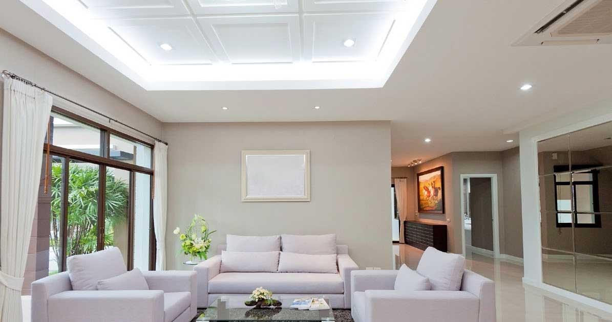 Instalaciones eléctricas residenciales - Sala de una vivienda
