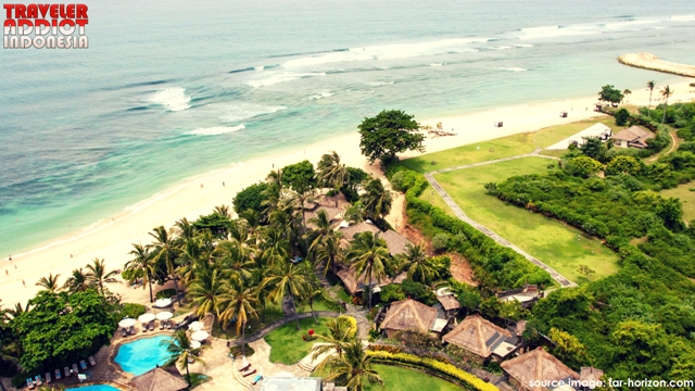 Bali Tourism Development Corporation (BTDC). The area is well managed to provide various facilities and infrastructure providing opportunities for investors to manage and build hotels for the advancement of tourism in Nusa Dua