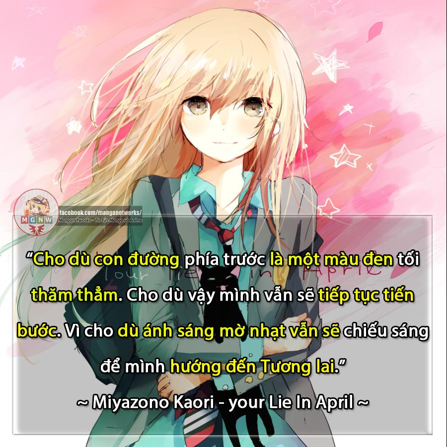 Câu nói hay trong anime/manga