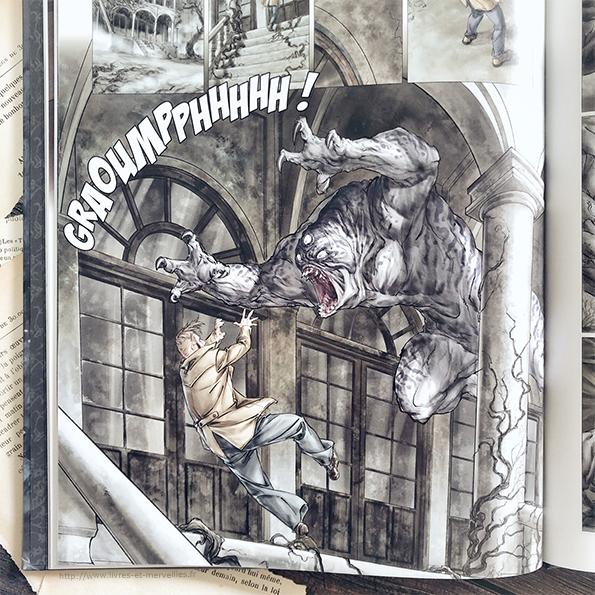 Bande dessinée : Le manoir Sheridan - tome 1