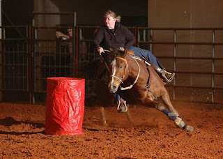 Leo Barrel Racing Hickory Ridge Studio