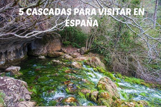 5 Cascada para visitar en España