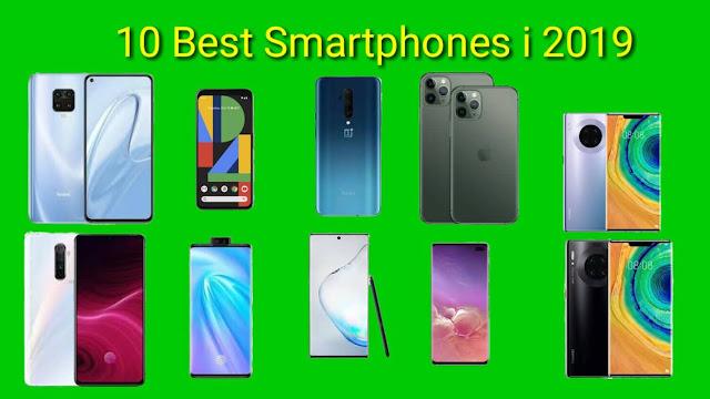 The 10 Best Smartphones in 2019