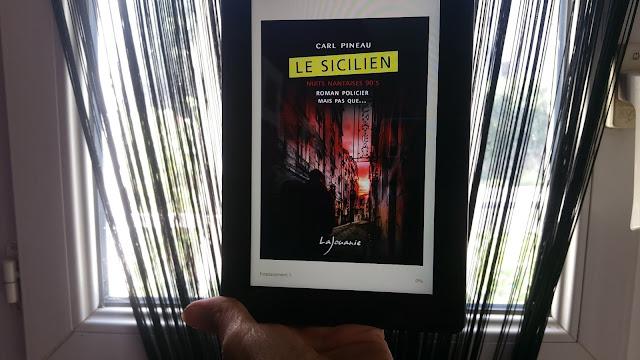 Carl Pineau le sicilien nuits nantaises avis chroniques livre addict happymanda happybook