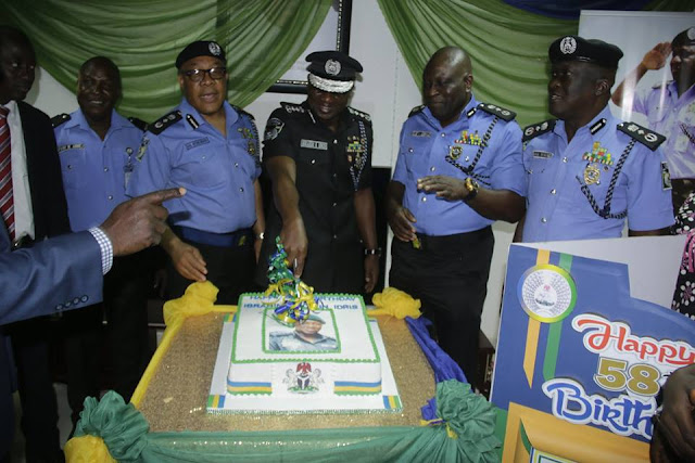 58 Happy Cheers to the Inspector-General of Police, IGP Ibrahim K. Idris, NPM, mni.