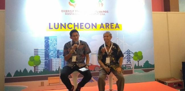 Polemik Lem Aibon, Sandiaga: Jangan Serang Pak Anies, Tapi Perbaiki Sistemnya