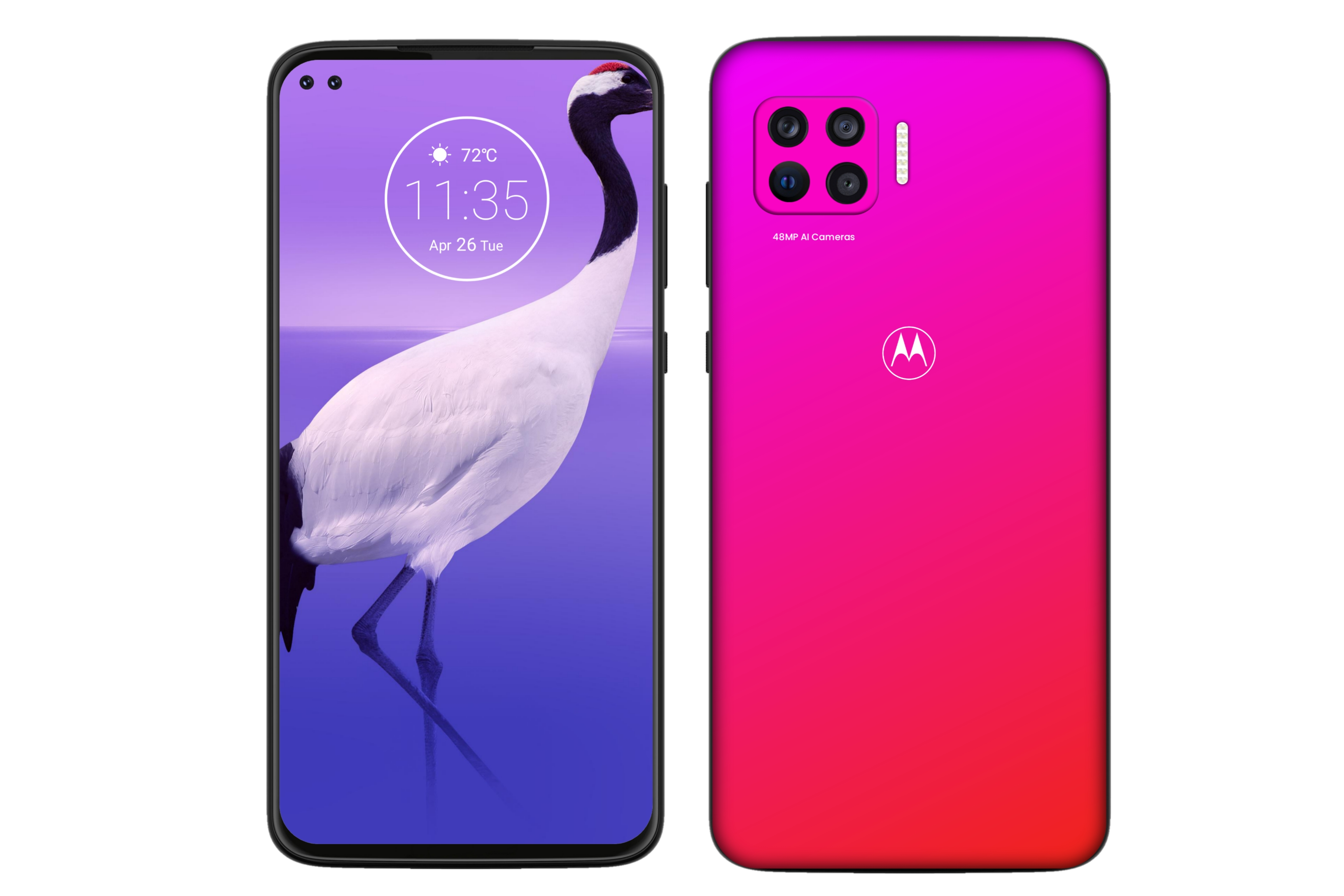 Motorola Moto G 5G - A new concept design Smartphone with 3D Design and Renders