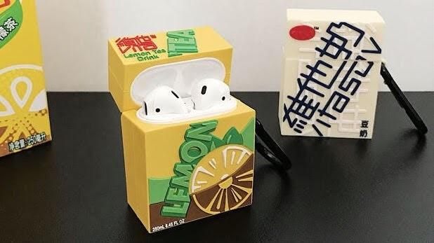 【好物推介】Aiyo0o Apple Airpods 保護套 紙包飲品造型 香港本土味十足