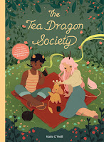 the tea dragon society by katie o'neill cover