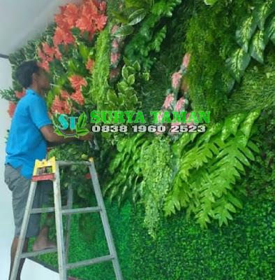 Jasa Pembuatan Vertical Garden Sintetis di Cinere | SuryaTaman