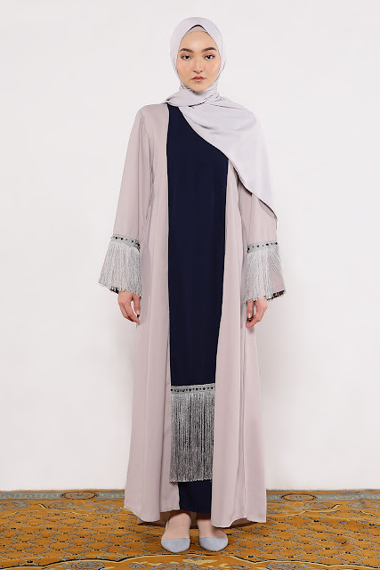 Model Gamis Fringe Rumbai