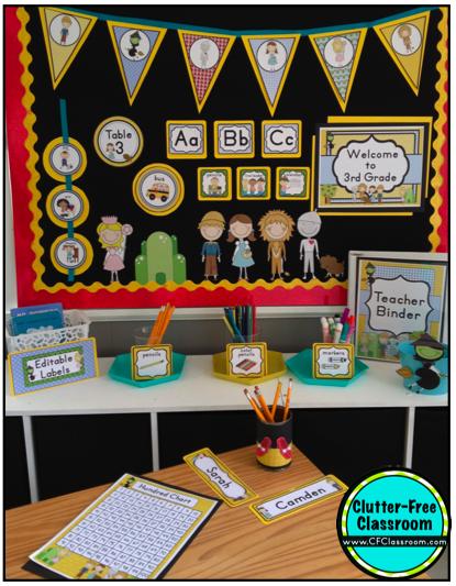 Classroom Ideas Grade 3 ~ Wizard of oz themed classroom ideas photos tips and
