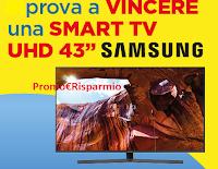Logo ''Vinci una TV con Sc Johnson'' e Glade, Oust, Duck, Pronto, Shout,Mr Muscle.