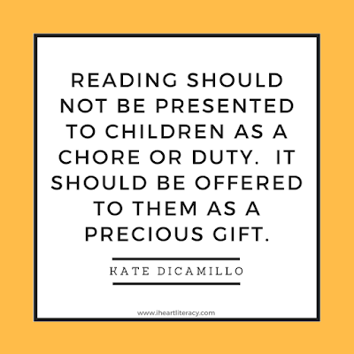 Reading is a precious gift.