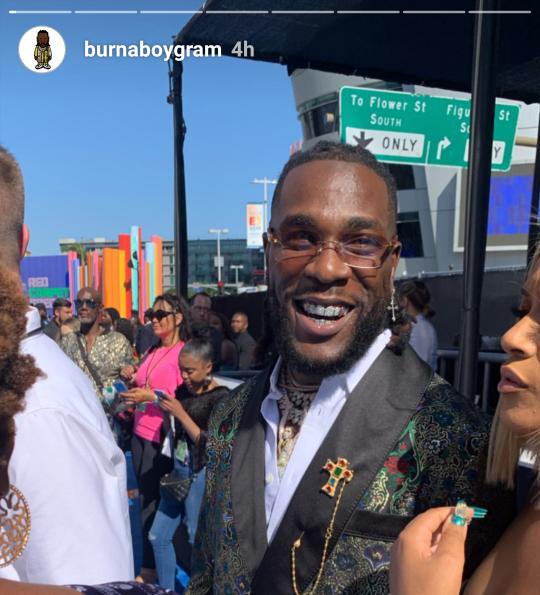 Stella Dimoko Korkus com: Nigerian Rapper Burna Boy Wins