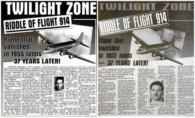 riddle of flight 914