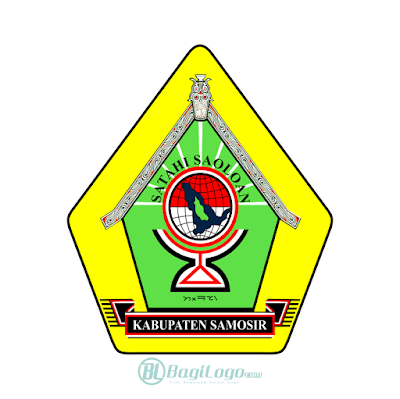 Kabupaten Samosir Logo Vector