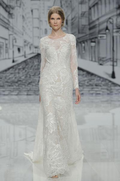 Vestido de novia de Justin Alexander para 2017