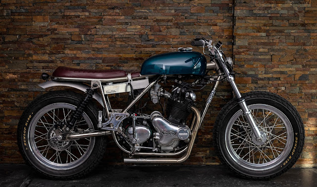 Norton Commando 850 1975 By FCR Original Hell Kustom