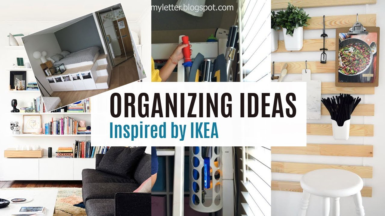 Organizing ideas from IKEA