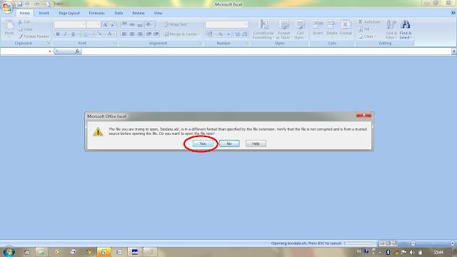 Cara Ubah File DBF Ke Excel