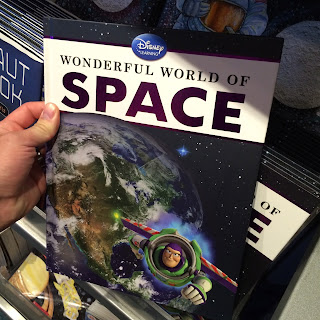 wonderful world of space book disney