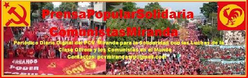 ElEl Portavoz del Partido Comunista de Venezuela-PCV Miranda Cen tro