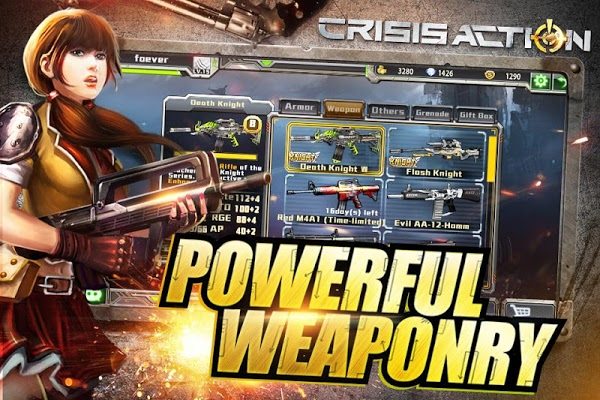 Crisis Action MOD APK+DATA v1.9.1
