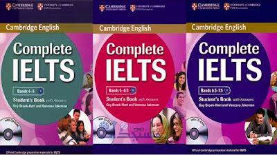 حصريا تحميل Complete IELTS (كتب كاملة بصيغة PDF + صوت +اجابات) للحصول على  درجات  4.0 - 7.5