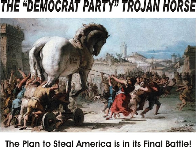 Image result for procession of the trojan horse in troy