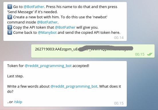 Integrasi Bot dengan ManyBot