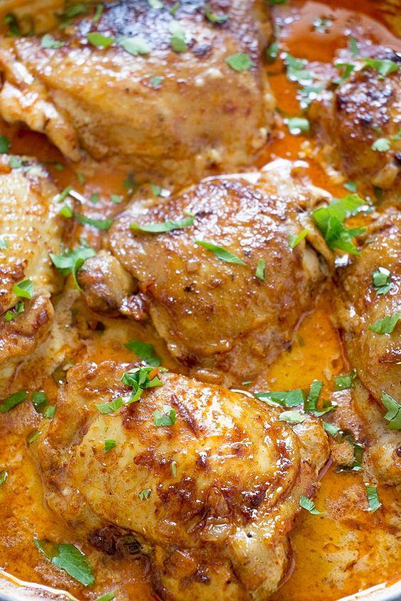 Hungarian Chicken Paprikash Recipe