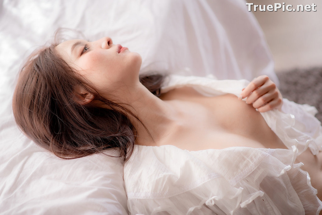 Image Thailand Model - Nardear Montgod - Sexy Beautiful In White - TruePic.net - Picture-8