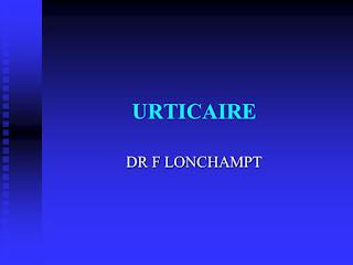 URTICAIRE .pdf