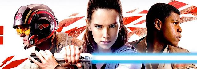 Em Dezembro tem o filme STAR WARS: Os últimos Jedi nos cinemas