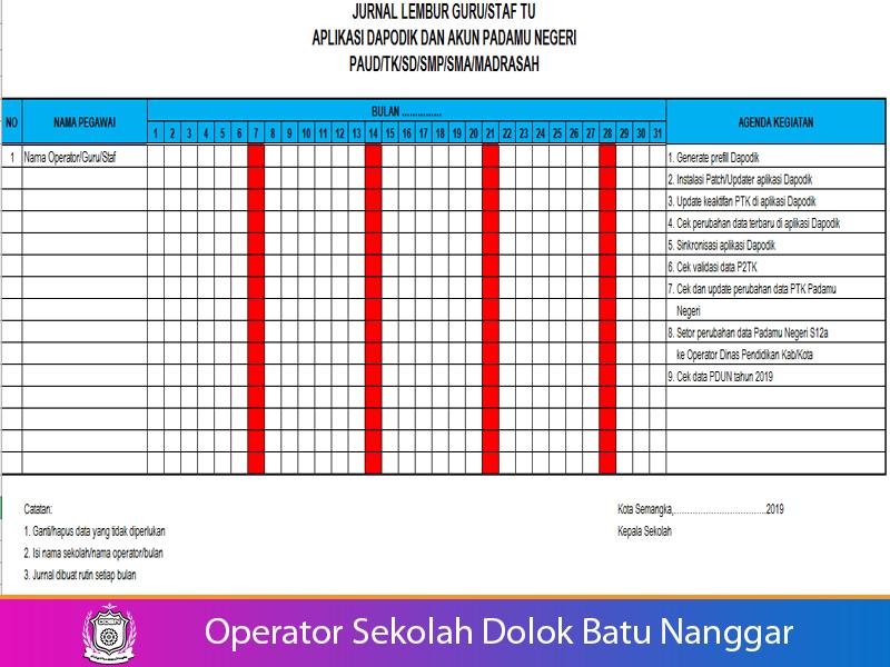 Download Jurnal Dan Jadwal Kegiatan Operator Sekolah Operatorsekolahdbn Com Informasi Pendidikan Indonesia